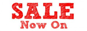 Sale Now On